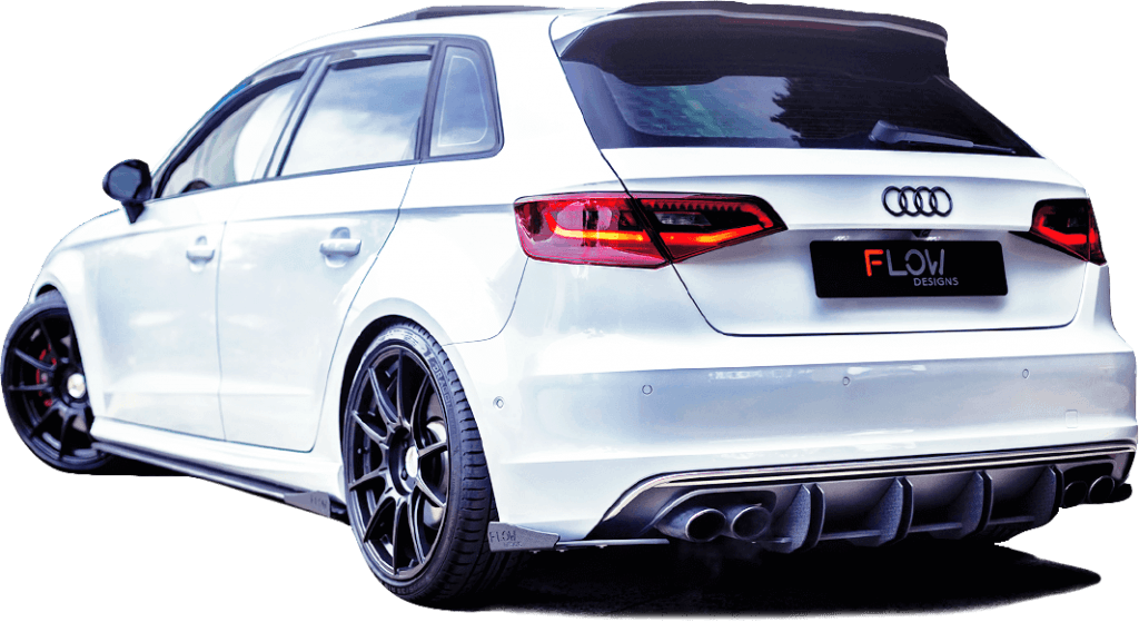 s3 rear 1 1024x559 - Audi S3 8V PFL Sportback Splitter Set