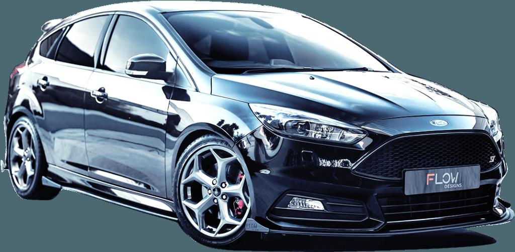 st front 2 1024x502 - Ford Focus ST MK3.5 Splitter Set