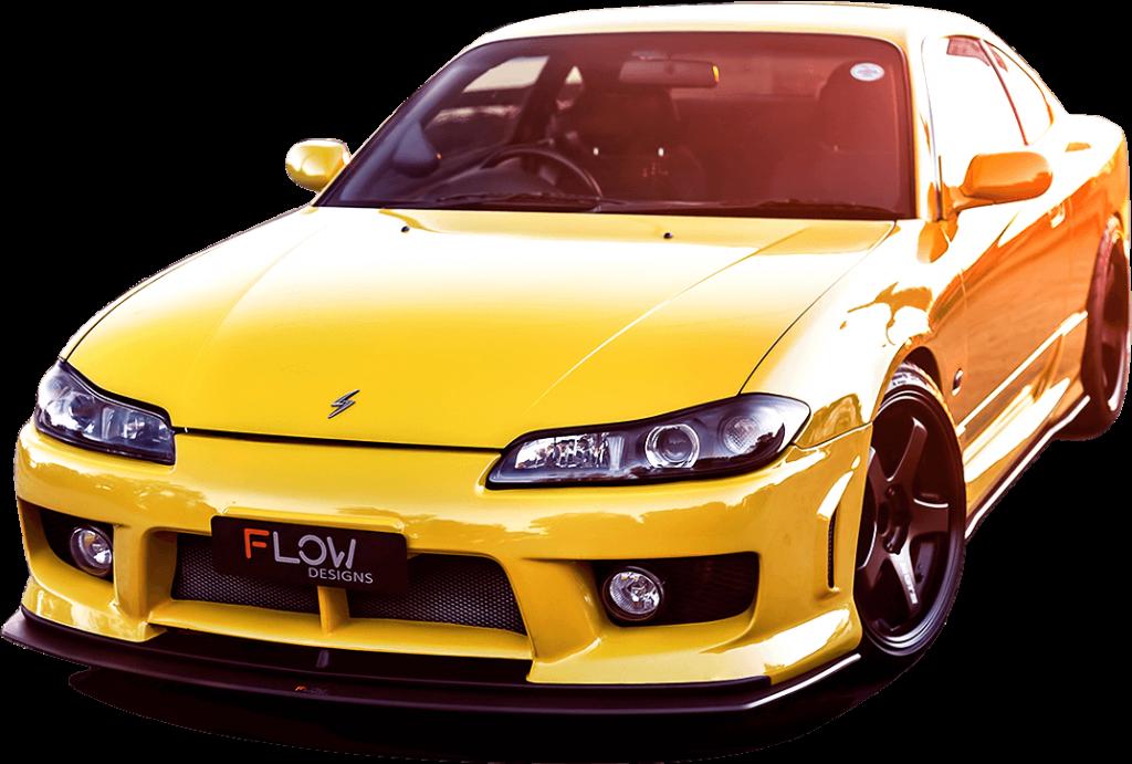 s15 front 01 1024x691 - Nissan S15 Aero Splitter Set