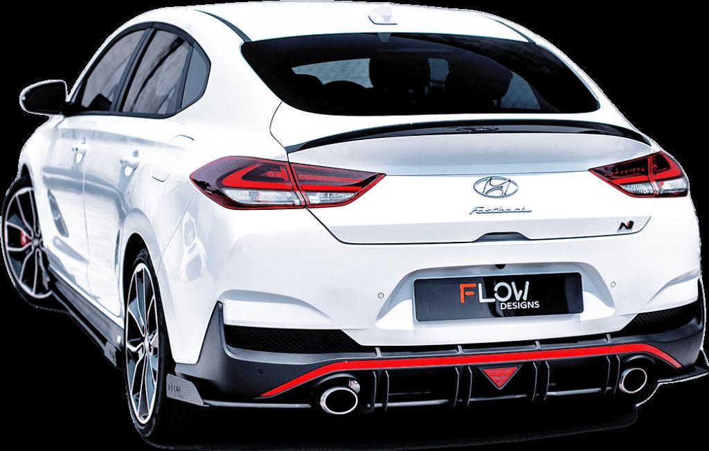 i30n fastback 01 1024x651 - Hyundai i30N PD Fastback Splitter Set